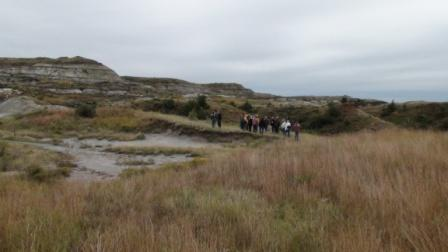 Hiking to the Petrified Forest in Theodore Roosevelt National Park