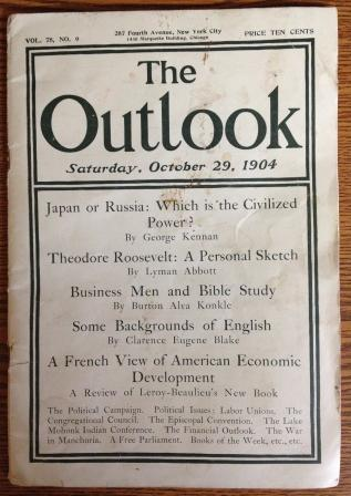 Cover of the Outlook, October 29, 1904